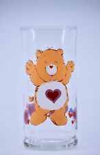 1983 - Pizza Hut / Care Bears - Tenderheart Bear Glass 12 Ounce Limited Edition