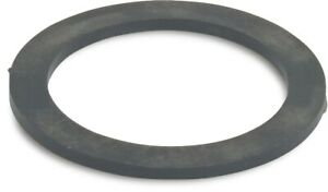 Thick Nitrile NBR Black Rubber Washer Round Ring Seal (2 Pack)
