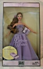 MATTEL Barbie Collectibles Birthday Wishes Doll Purple #B9788 NEW