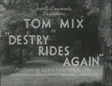 DESTRY RIDES AGAIN 1932 (DVD) TOM MIX, CLAUDIA DELL