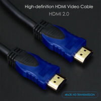 High Speed HDMI Cable V2.0 3D 1080P Ethernet 4K 60Hz- HDTV LCD LED PS4 BLURAY