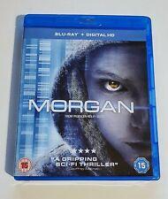 Morgan Blu-ray, Used, Very Good, Anya Taylor-Joy, Sci-Fi, Ridley Scott