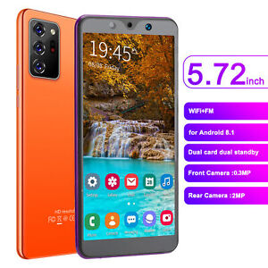 5.72in Android Smartphone 512MB+4GB Dual SIM 3G Unlocked Super Cheap Smart Phone