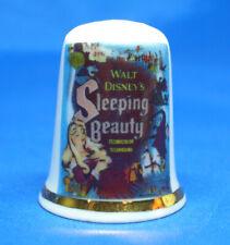 Birchcroft Thimble  -- Sleeping Beauty Movie Poster --   Free Dome Box