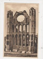 Elgin Cathedral East Window Vintage Postcard 597a