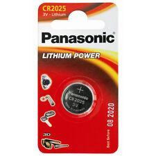 1 x CR2025 pila bottone litio 3V per orologio calcolatrice databank radiocomando