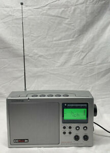 C.CRANE CC Radio 2E Twin Coil Ferrite AM/FM/2-Meter HAM/WX Receiver +Alert Works