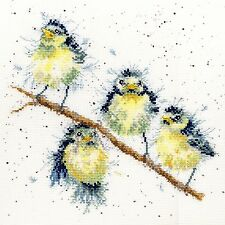 BOTHY THREADS SWEET TWEET BIRDS CROSS STITCH KIT - NEW XHD4