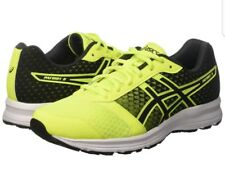 Asics Para Hombre Zapatillas Running Patriot 8 Amarillo/Negro Talla UK 6
