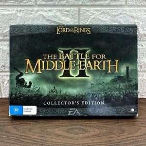 The Battle For Middle-Earth RARE Big Box PC Game 2004 Excellent Shown AUS Sell