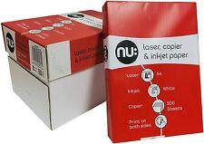 Nu Ramette de 500 feuilles papier format A4 Blanc - 80G CIE 170 - Haute qualité