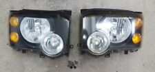 2003-2004 03 04 Land Rover Discovery Headlight Set L & R 99 00 01 02 Conversion