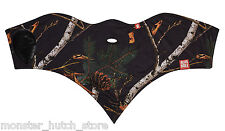 NEW WITH TAGS Airhole Unisex S1 2 LAYER FACEMASK NIGHT CAMO HUNTING LIMITED