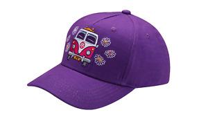 Kinder Cap T1 Mütze lila Schirmmütze Basecap Baumwolle 1H1084300