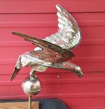 Eagle Copper Weathervane Full Body Yard Patio Deck Home Decor