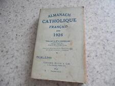 1926.Almanach catholique français .