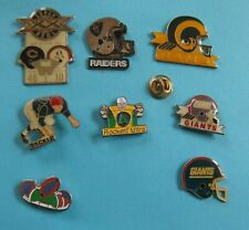 Lot de 8 pin's - Football Américain - Super Bowl -