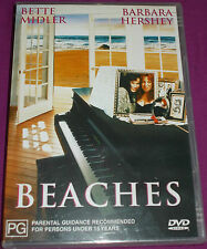 NEW SEALED Beaches (Region 4, DVD, 2002) Bette Midler, Barbara Hershey