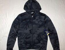 Polo Ralph Lauren Full Zip Hoodie Size XL Black Camo Tech Fleece Jordan Nike