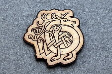 Jewelry Birch Wood New #115 Celtic Horse Brooch Pin Laser Engraved