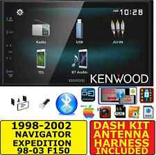 F150 NAVIGATOR EXPEDITION ECONOLINE JVC-KENWOOD BLUETOOTH SCREEN MIRROR STEREO