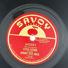 LITTLE ESTHER Misery/Mistrustin' Blues  10IN 1956 BLUES NM- LISTEN!!!!!!!