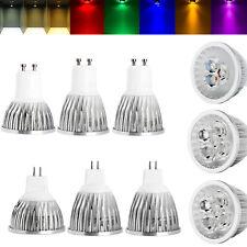 LED Regulable Bombillas Spotlight 9W 12W 15W GU10 110V 220V MR16 12V Lámpara GM 8 Colores