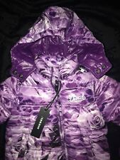 NEW Diesel Baby girl Purple snow suit coverall size 6M/9M