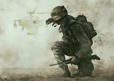 A1 Call Of Duty Battle Wall Art Poster Print 60x90cm 180gsm Game Room Gift#15864