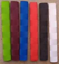 60x CHEVRON Cricket Bat Grips - WHITE, BLUE, GREEN, BLACK, RED, MAROON