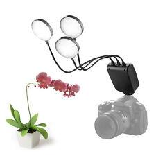 Mcoplus LED Macro Camera Flash Speedlite Flexible Metal Hose for Canon Nikon