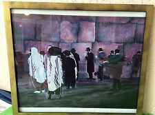 Lithograph by Michele Goren~Signed&Numbered~Kadosh Ha Kotel~The Wailing Wall