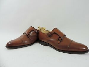 Church's Mens Shoes Custom Grade Buckle Cap UK 8.5 F US 9.5 EU 42.5 Worn Twice