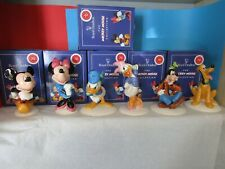 More details for royal doulton mickey mouse collection mm1 to mm6 gold 70 years select from list