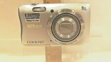 Nikon COOLPIX S3700 20.1MP WIFI Digital Camera SILVER