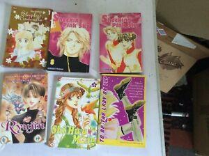 6 JAPANESE COMIC BOOKS.SET 1