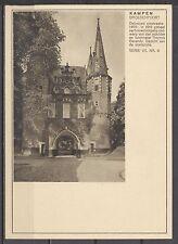 FOTO-BRIEFKAART 7½c VETH -KAMPEN BROEDERPOORT SERIE VII NR.8