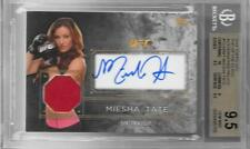 2016 TOPPS UFC TOP OF THE CLASS AUTO/RELIC #TCARMT MIESHA TATE BGS GEM MINT 9.5