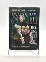 Luka Doncic 2020-21 Panini NBA Hoops GOLD HOLO SLAM MAGAZINE INSERT
