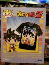 Dragon Ball Z Funko Pop! Animation Goku Vinyl Figure & T-Shirt [X-Large]