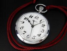 Seiko Quartz Japan Railway 50mm Pocket Watch 7C11-0010 reloj uhr montre orologio