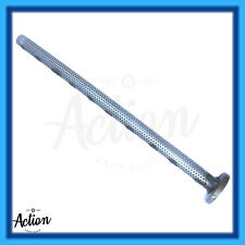 GO KART ROTAX MAX END CAP & PERFORATED EXHAUST TUBE GENUINE NEW FREE POST