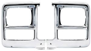 OER Headlamp Bezel Set 1979-1980 Chevy/GMC Truck Jimmy Blazer Suburbans