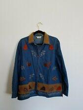 Dress Barn Woman Size 14/16 jean jacket
