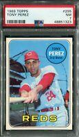1969 Topps #295 Tony Perez PSA 7 NM