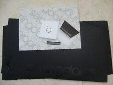 Bloomingdales Ex Large Square 14 X 14 X 7 Paper Gift Box W/ Tissue Paper Card