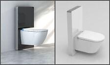 Sensor Glas Sanitärmodul für Wand-WC Spülkasten Montageelement Schwarz oder weiß
