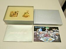 Harmony Kingdom 2001 Planet Hk Royal Watch Collectors Club Kit Minx Wolfie Nib