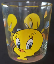 bicchiere NUTELLA glass 1996 WARNER BROS Titti Tweety 2 - Looney Tunes