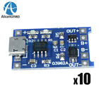 10PCS 5V Micro USB 1A 18650 Lithium Battery Charging Board Charger Module